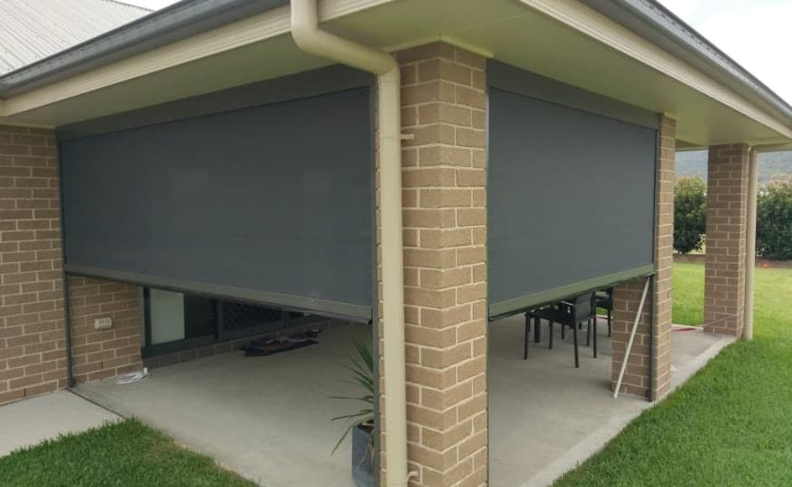 External Awnings at Somerset Curtains & Blinds