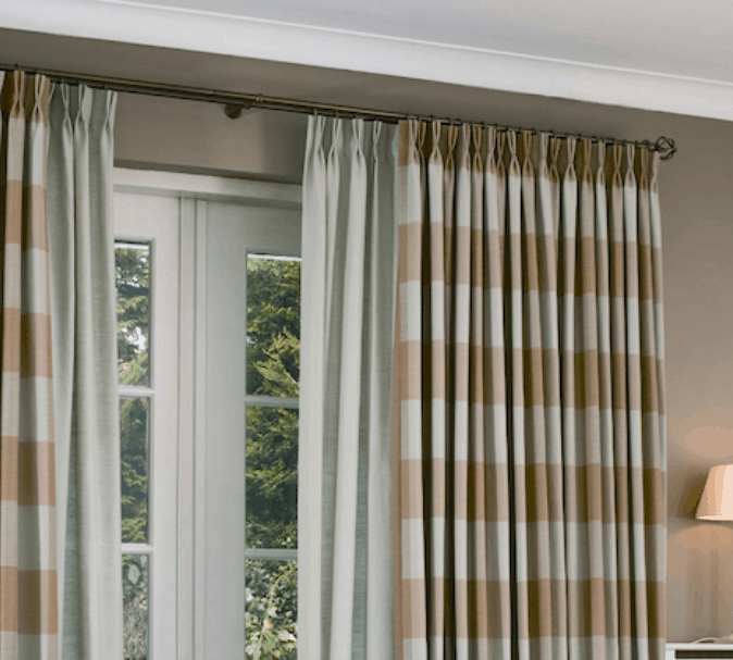 Pinch Pleat Curtains Newcastle - Somerset Curtains & Blinds Newcastle