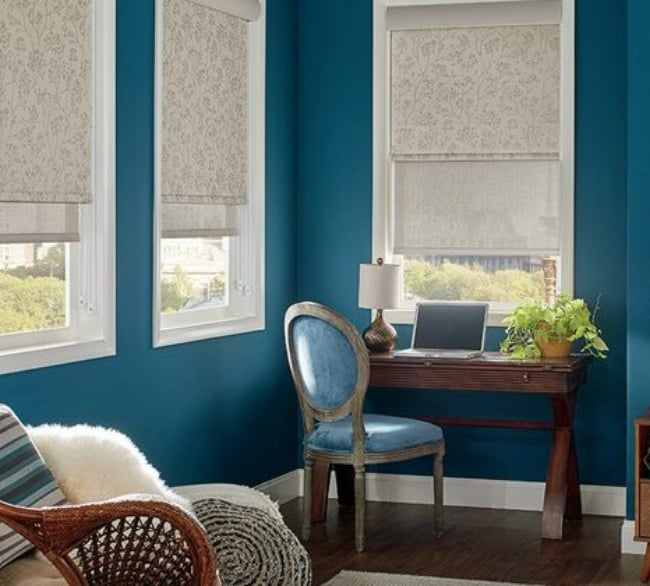 Roman Blinds - Dual Roller Shutters - Dual Blinds - Curtains Newcastle - Somerset Curtains & Blinds Newcastle