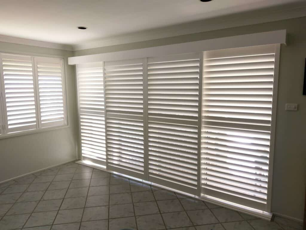 Plantation Shutter - Curtains Newcastle - Somerset Curtains & Blinds Newcastle