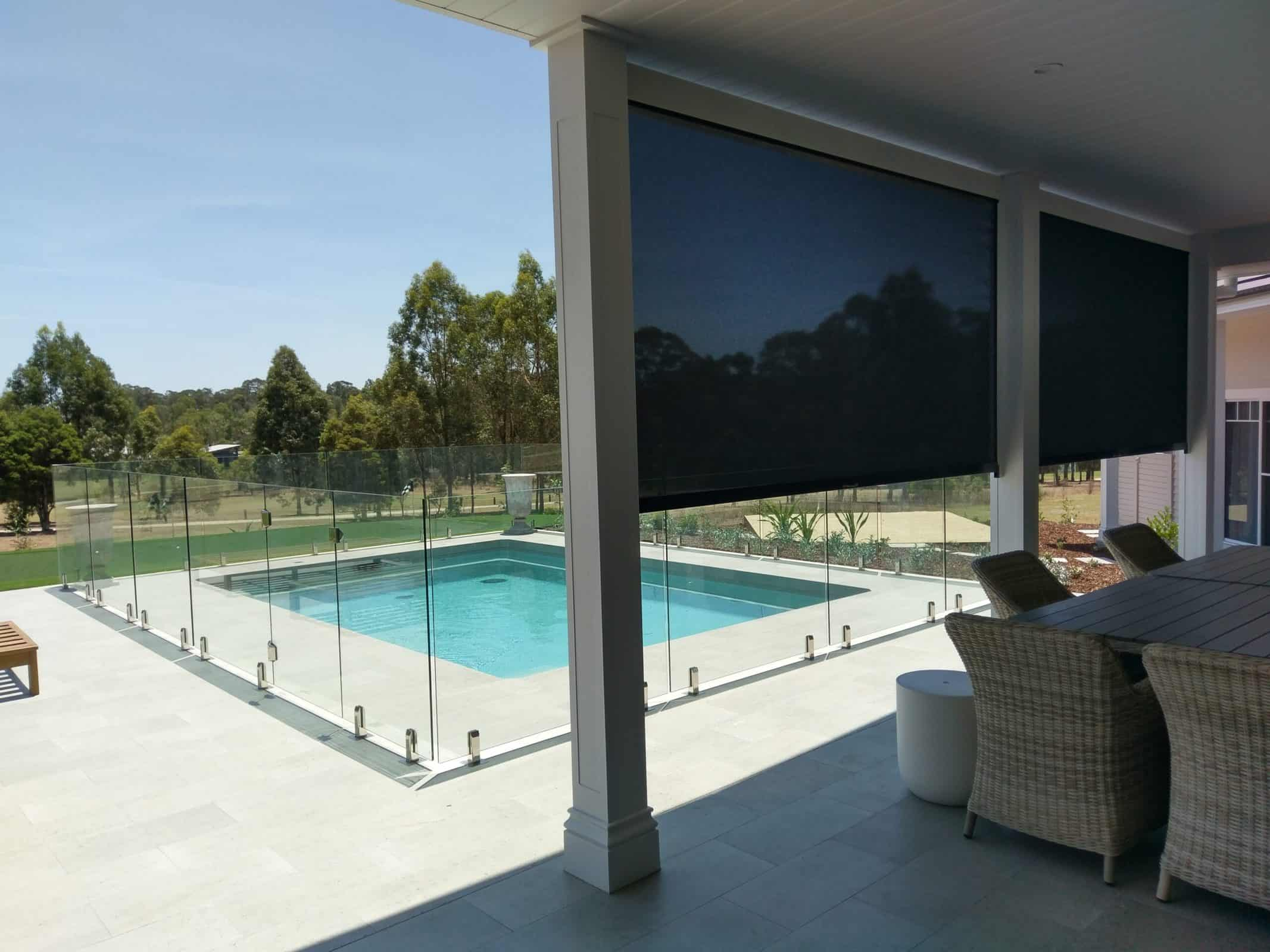 Zipscreen Awnings - Curtains Newcastle - Somerset Curtains & Blinds Newcastle