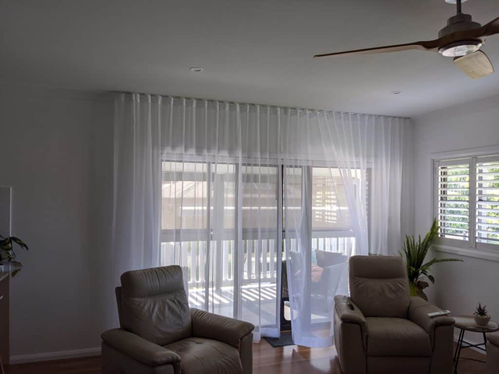 SWave white sheer - S-Wave/S-Fold - Curtains Newcastle - Somerset Curtains & Blinds Newcastle