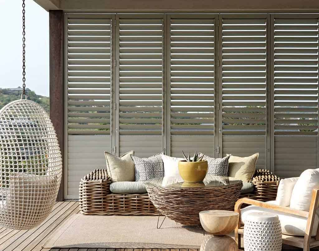 Aluminium Shutters - Curtains Newcastle - Somerset Curtains & Blinds Newcastle