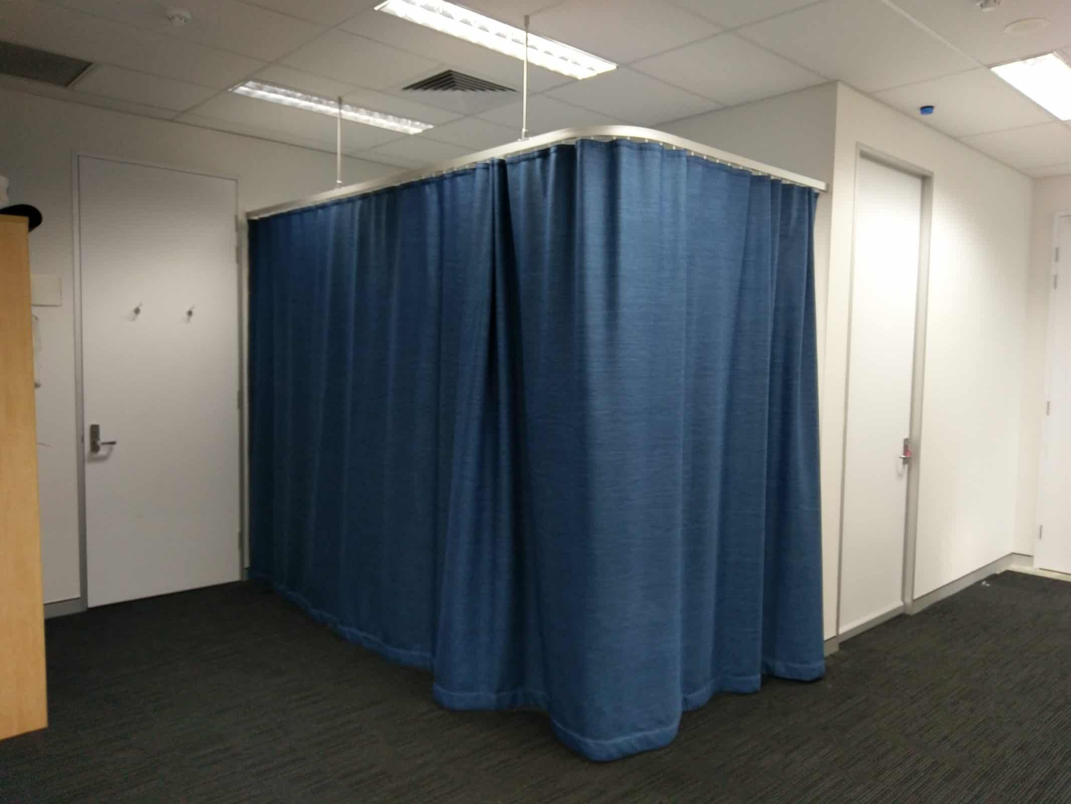 Hospital Curtain Tracks - Curtains Newcastle - Somerset Curtains & Blinds Newcastle